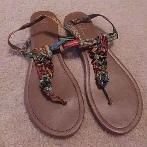 Shi by Journeys colourful sandals